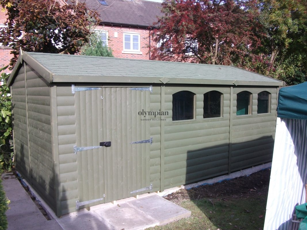 Heavy Duty Security Shed 3