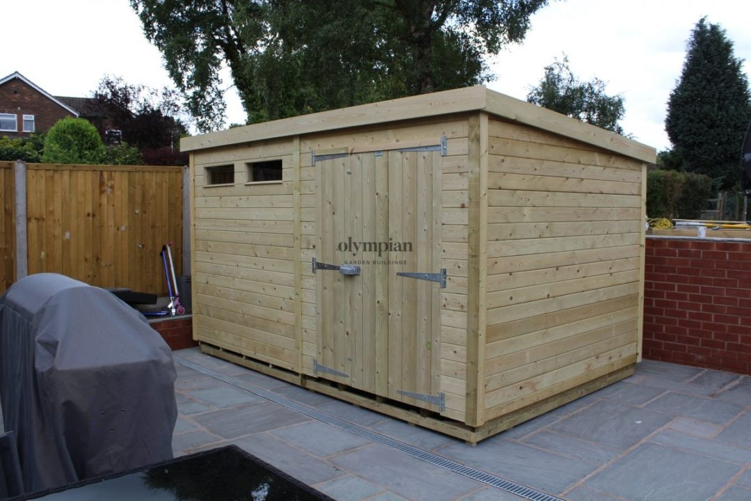 Heavy Duty Security Shed 48