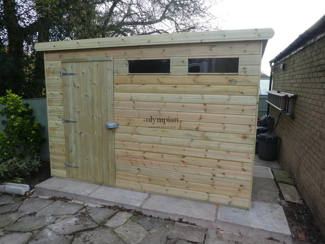 Heavy Duty Security Shed 49