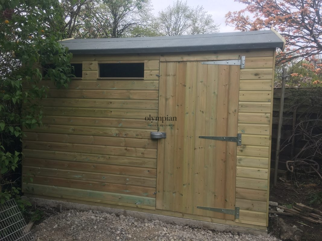 Heavy Duty Security Shed 51