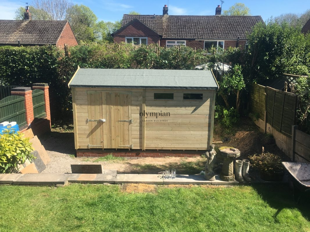 Heavy Duty Security Shed 55