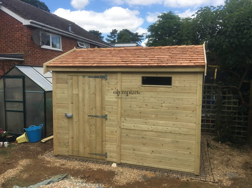 Heavy Duty Security Shed 57