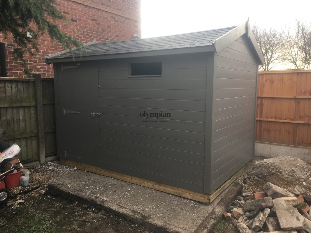 Heavy Duty Security Shed 59