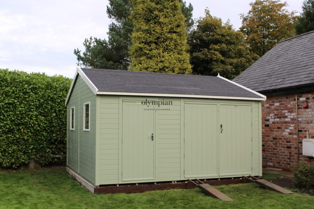 Heavy Duty Security Shed 62