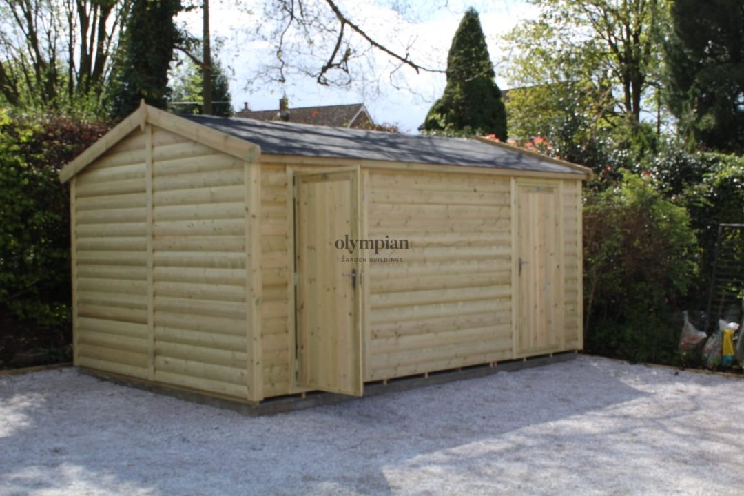Heavy Duty Security Shed 64