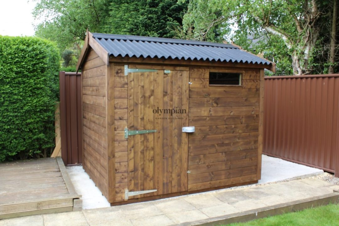 Heavy Duty Security Shed 65