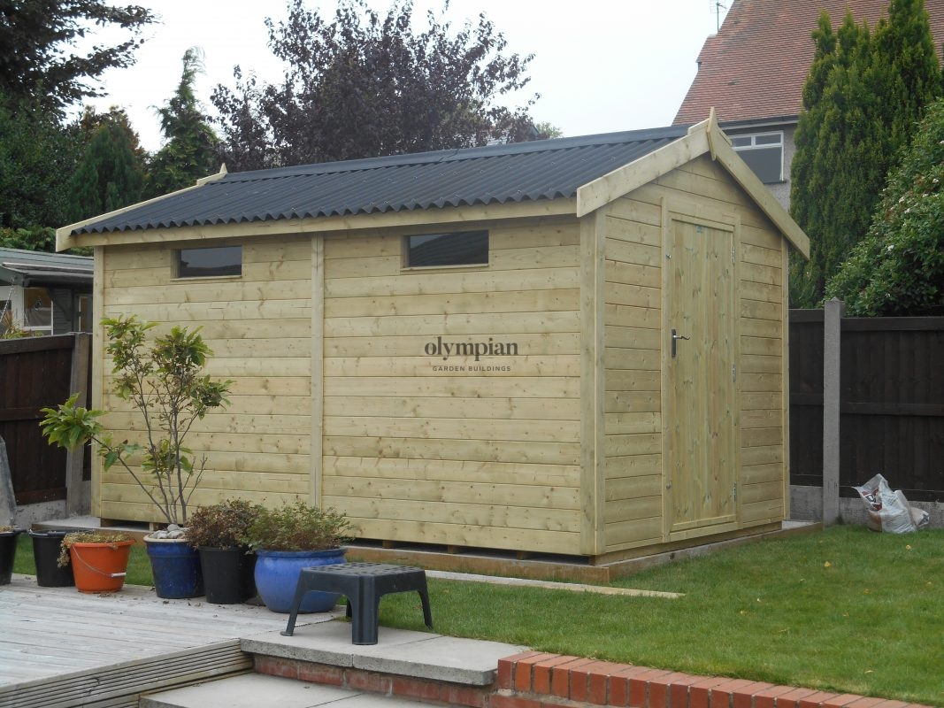 Heavy Duty Security Shed 5