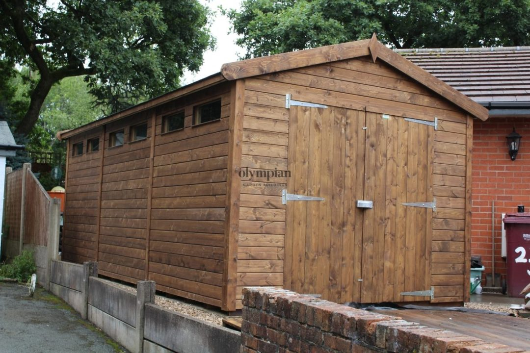 Heavy Duty Security Shed 69