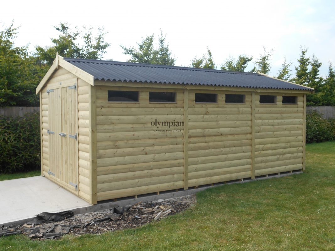 Heavy Duty Security Shed 71
