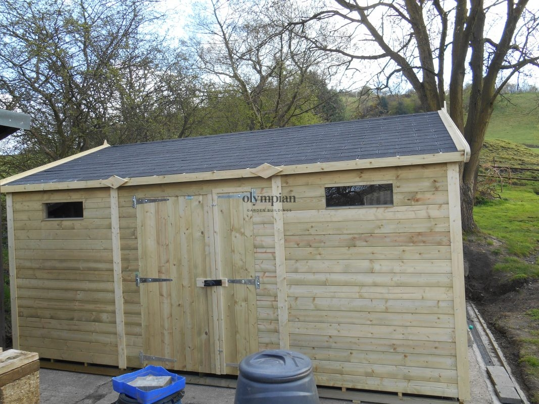 Heavy Duty Security Shed 72