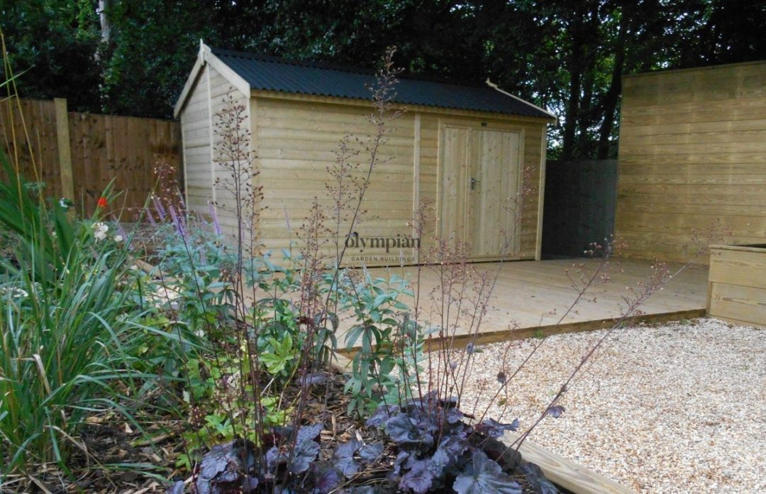 Heavy Duty Security Shed 73