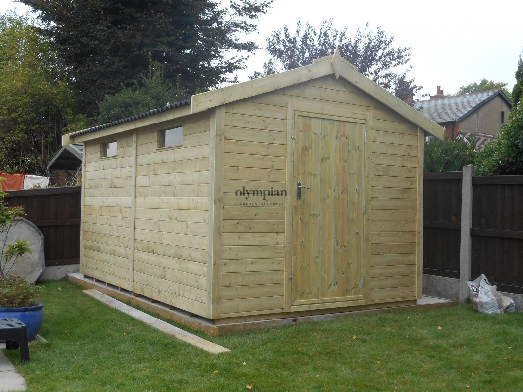 Heavy Duty Security Shed 74