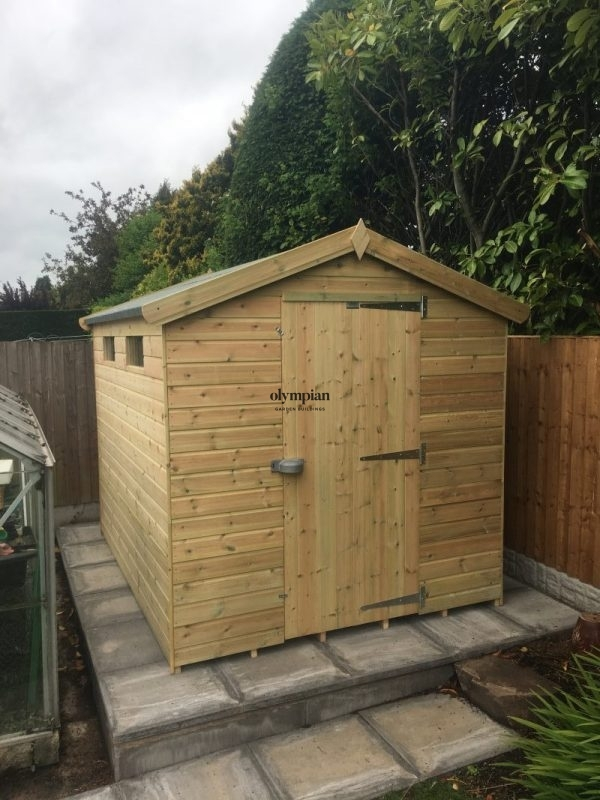 Heavy Duty Security Shed 82