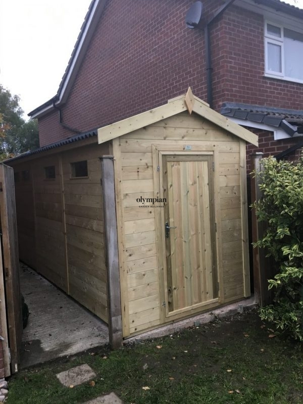 Heavy Duty Security Shed 83