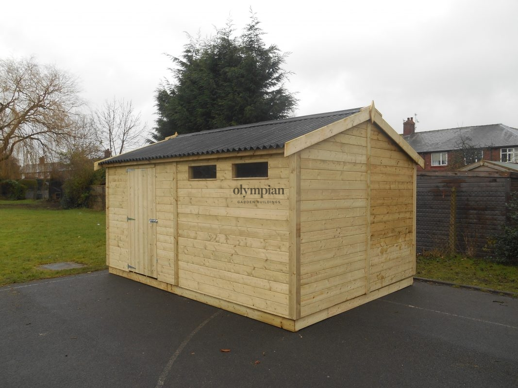 Heavy Duty Security Shed 7