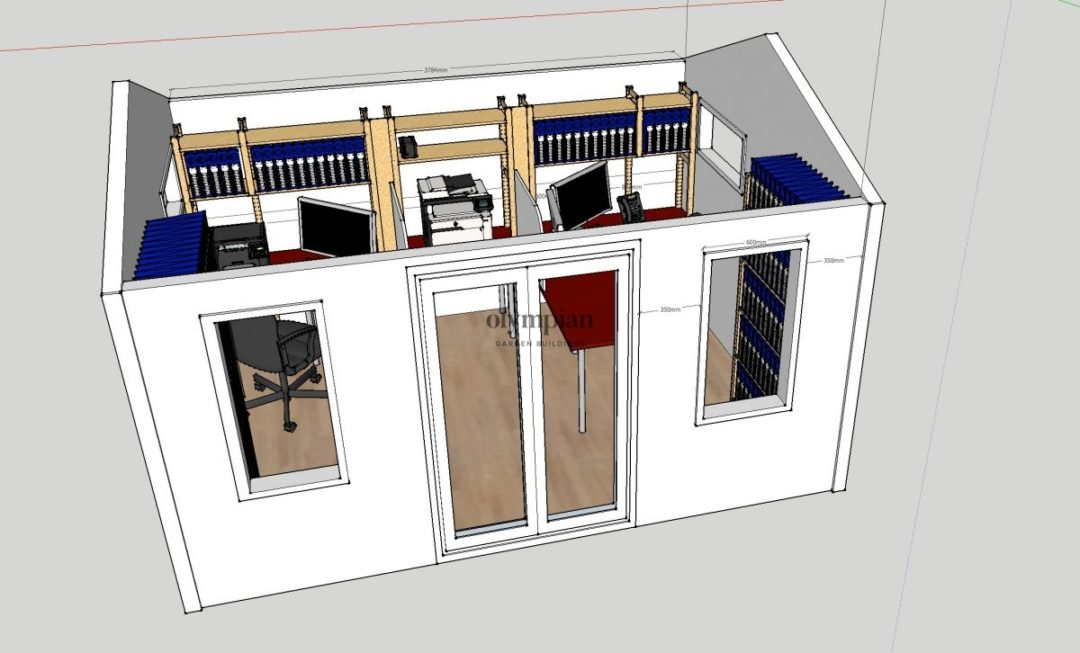 Garden Office in Tarporley