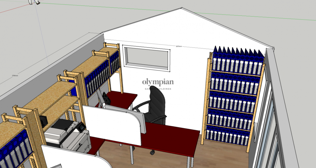 Home Office in Tarporley 2