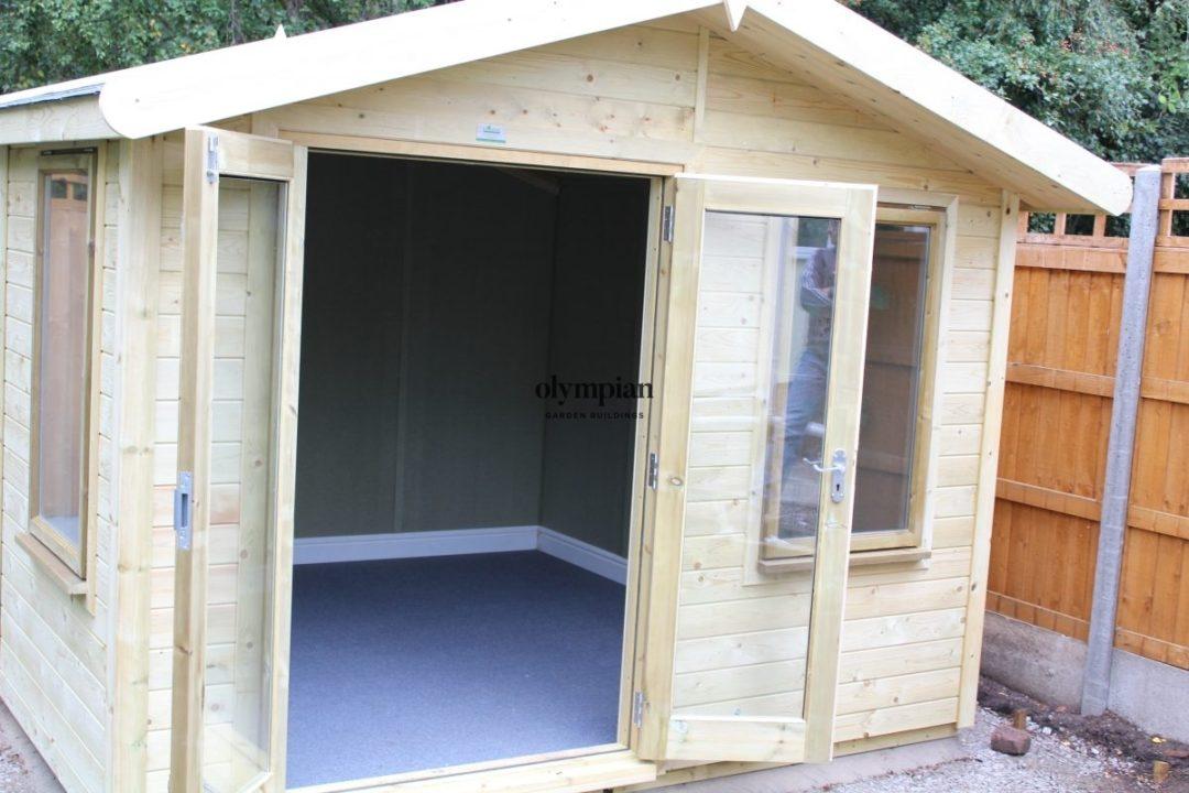 Insulated Garden Room 143
