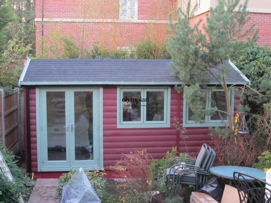 Insulated Garden Room 166