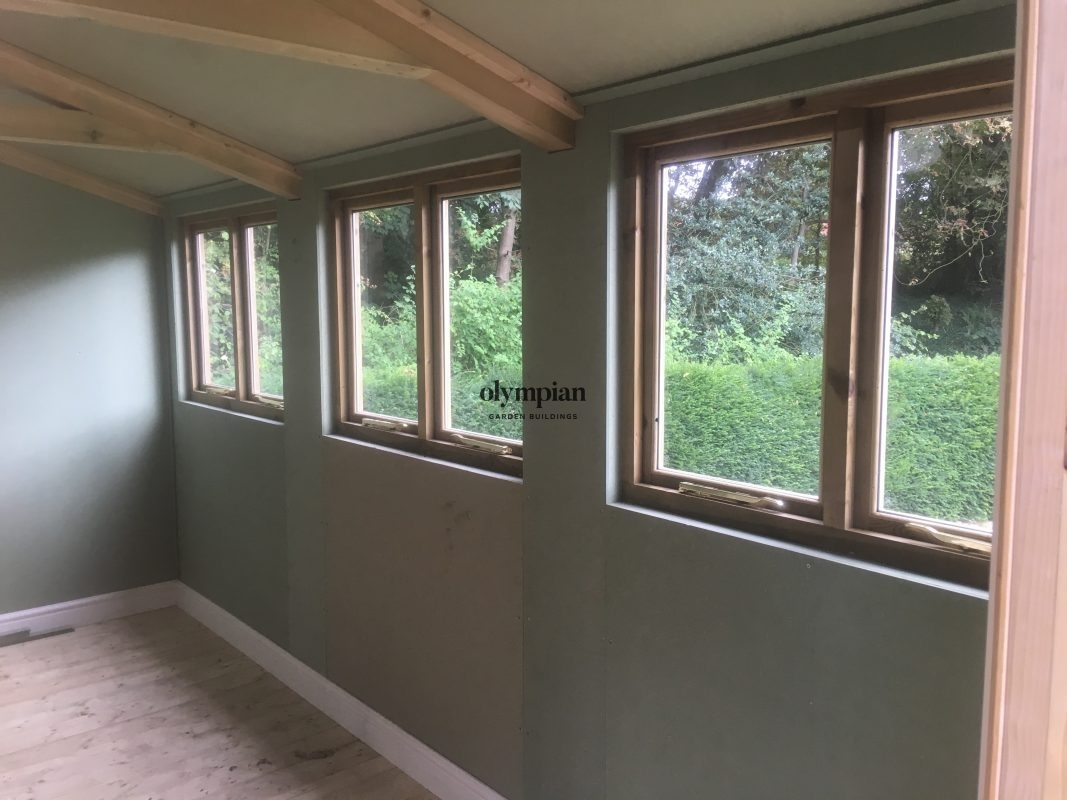 Insulated Garden Room 172