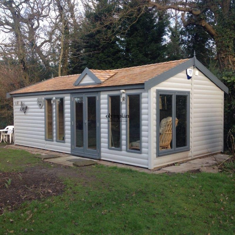 Insulated Garden Room 180