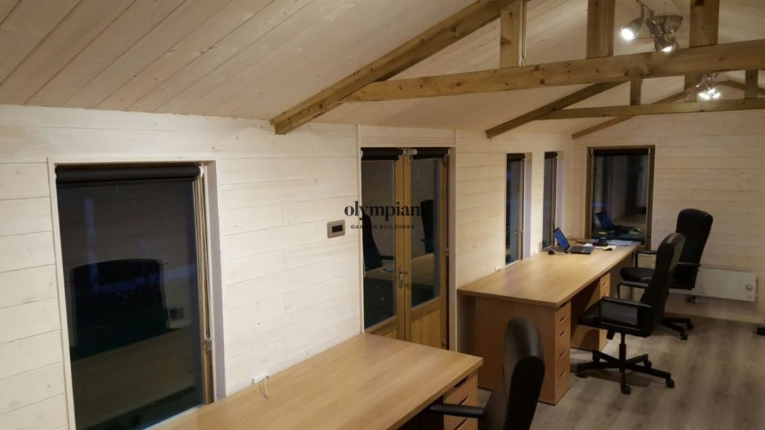 Insulated Garden Room 185
