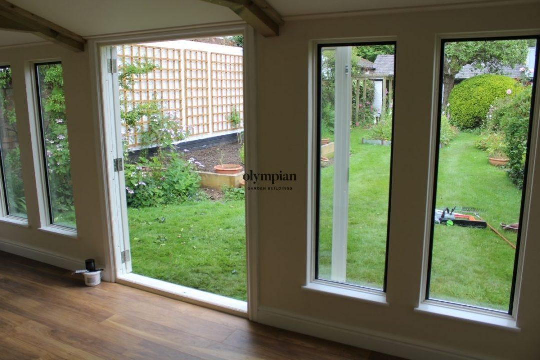Insulated Garden Room 128