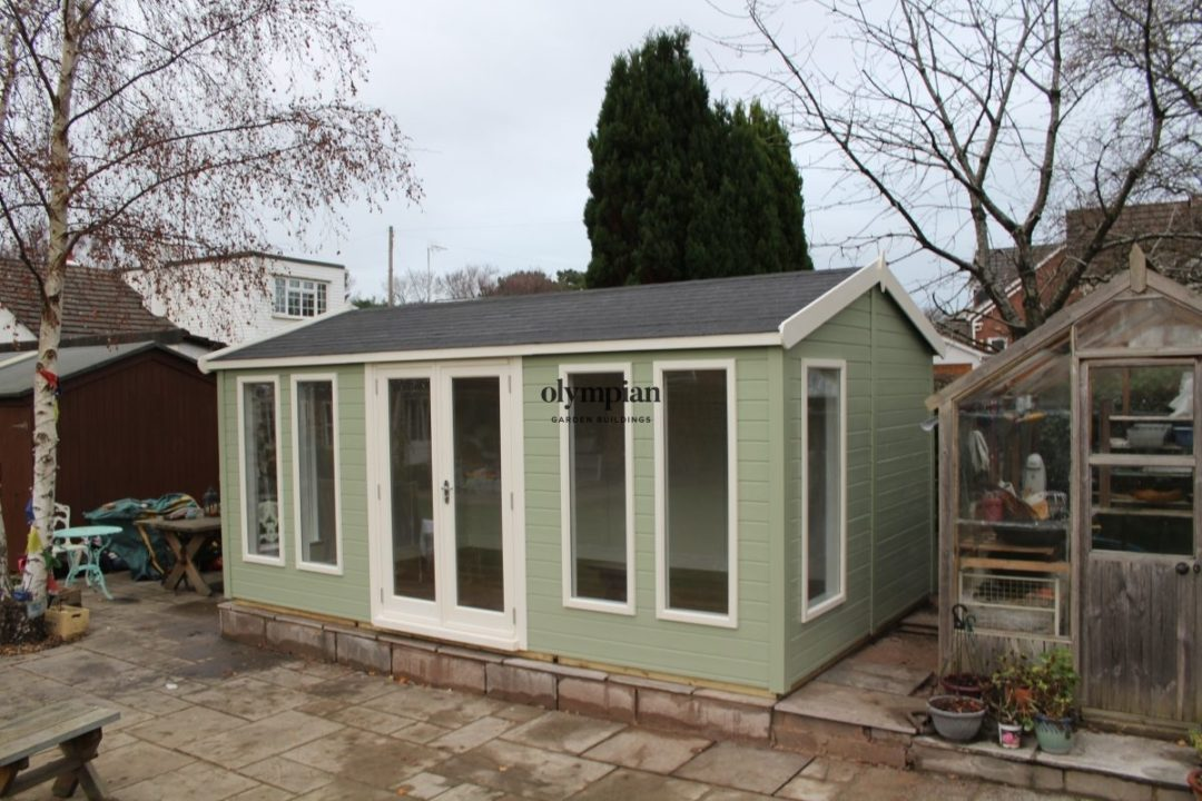 Insulated Garden Room 131