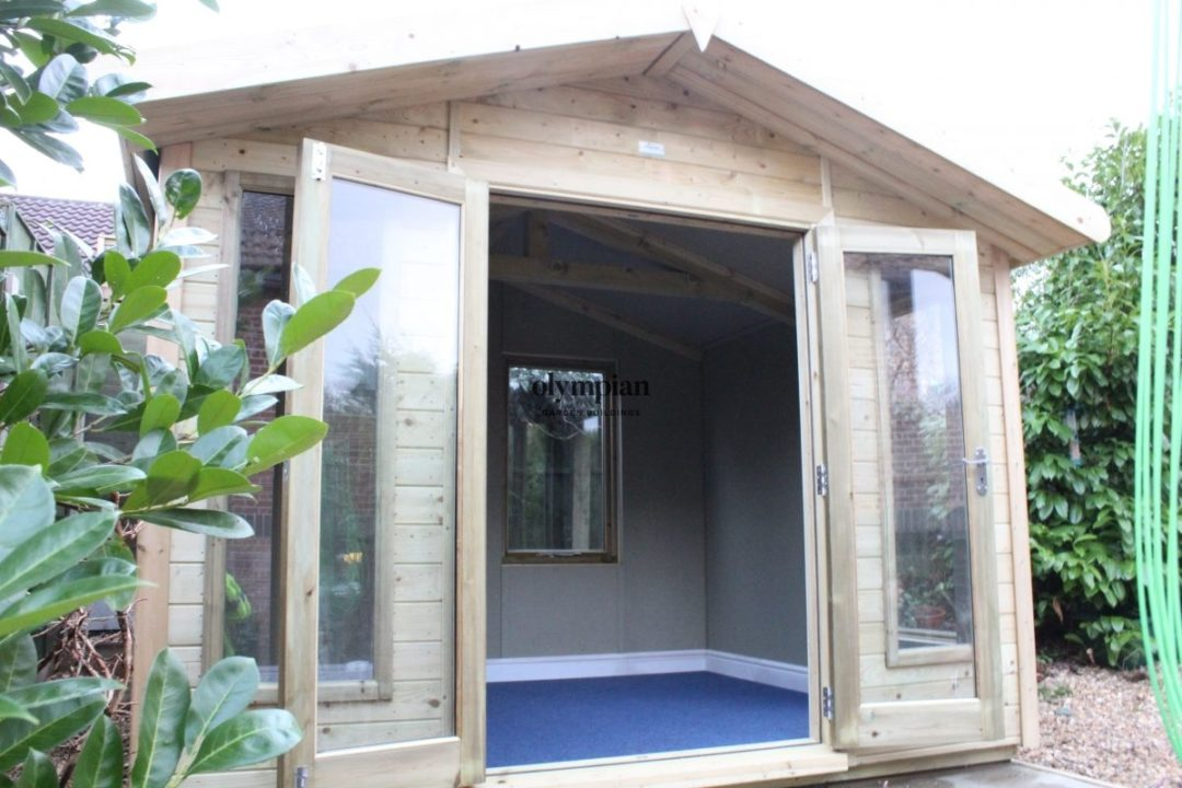 Insulated Garden Room 135