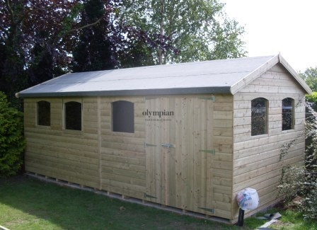 Large Apex Shed 103