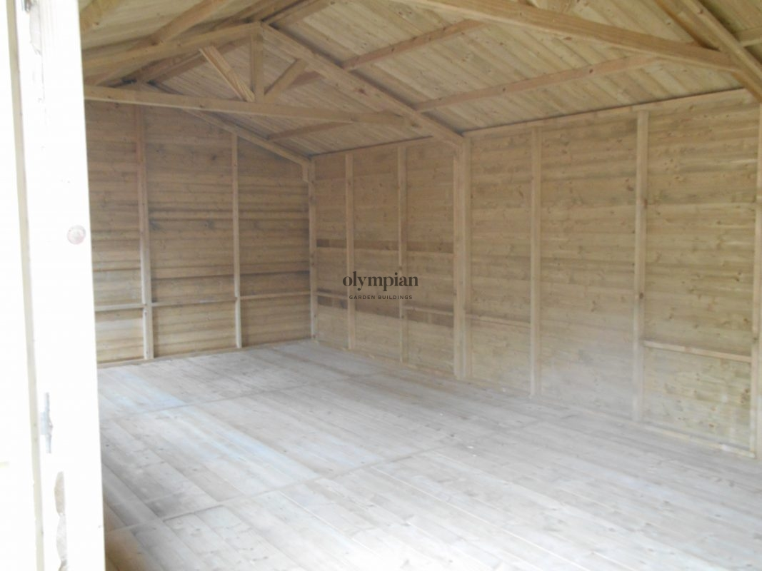 Large Apex Shed 20
