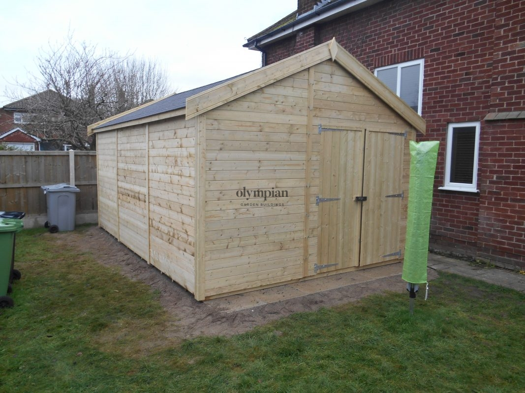 Large Apex Shed 22