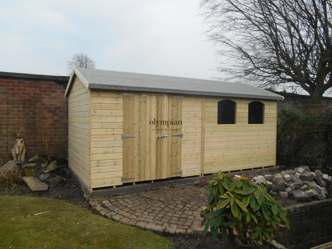 Large Apex Shed 24