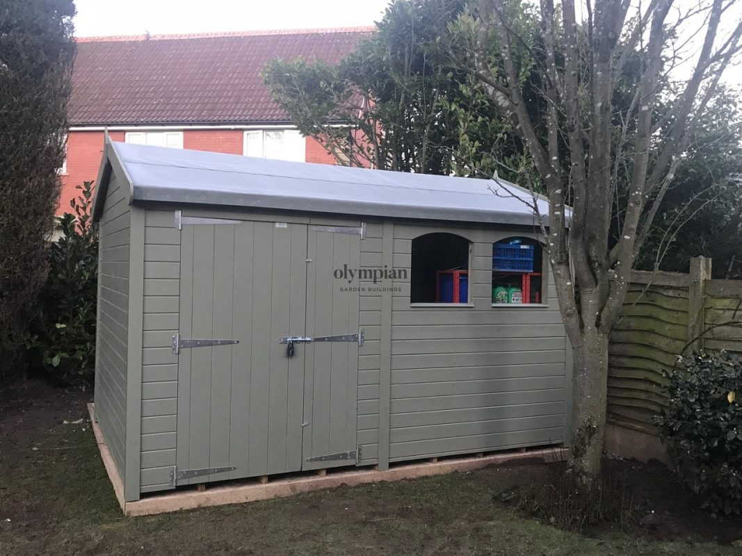 Large Apex Shed 25