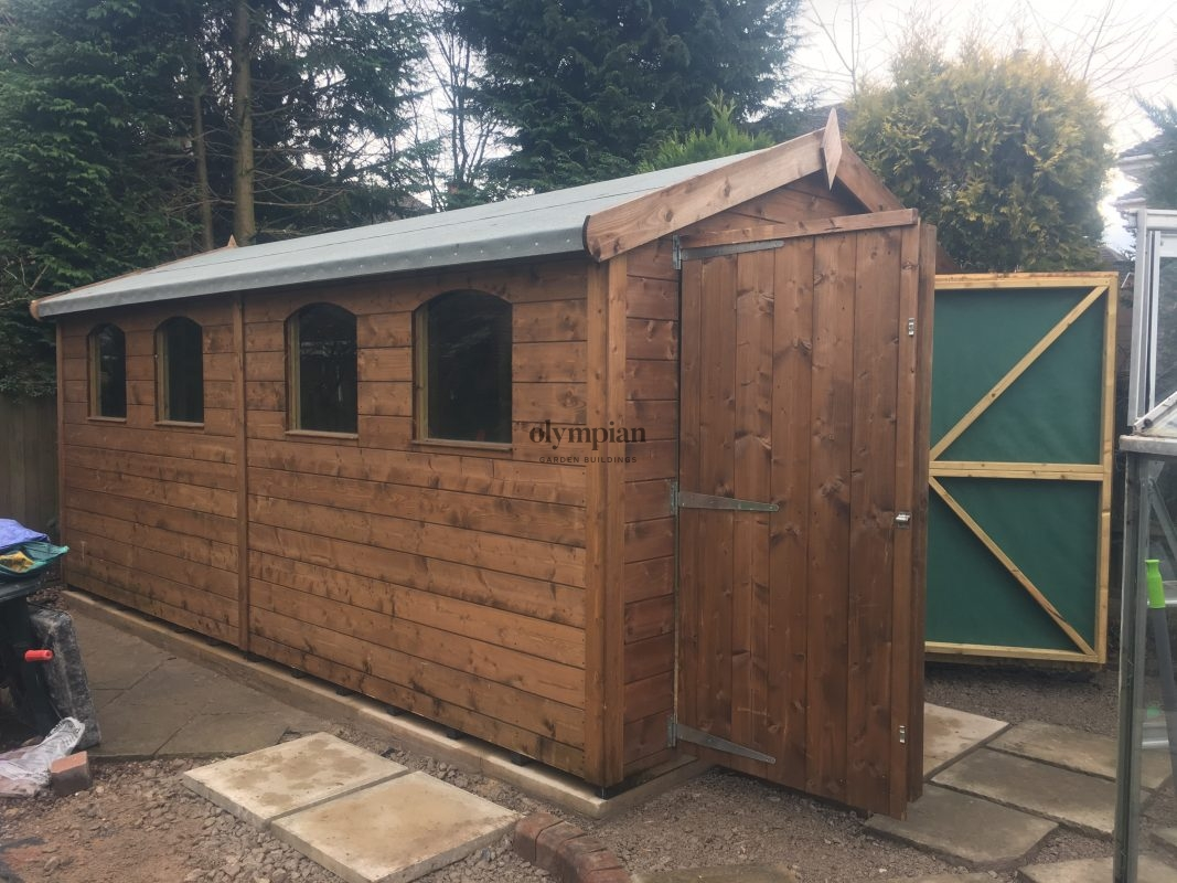 Large Apex Shed 26
