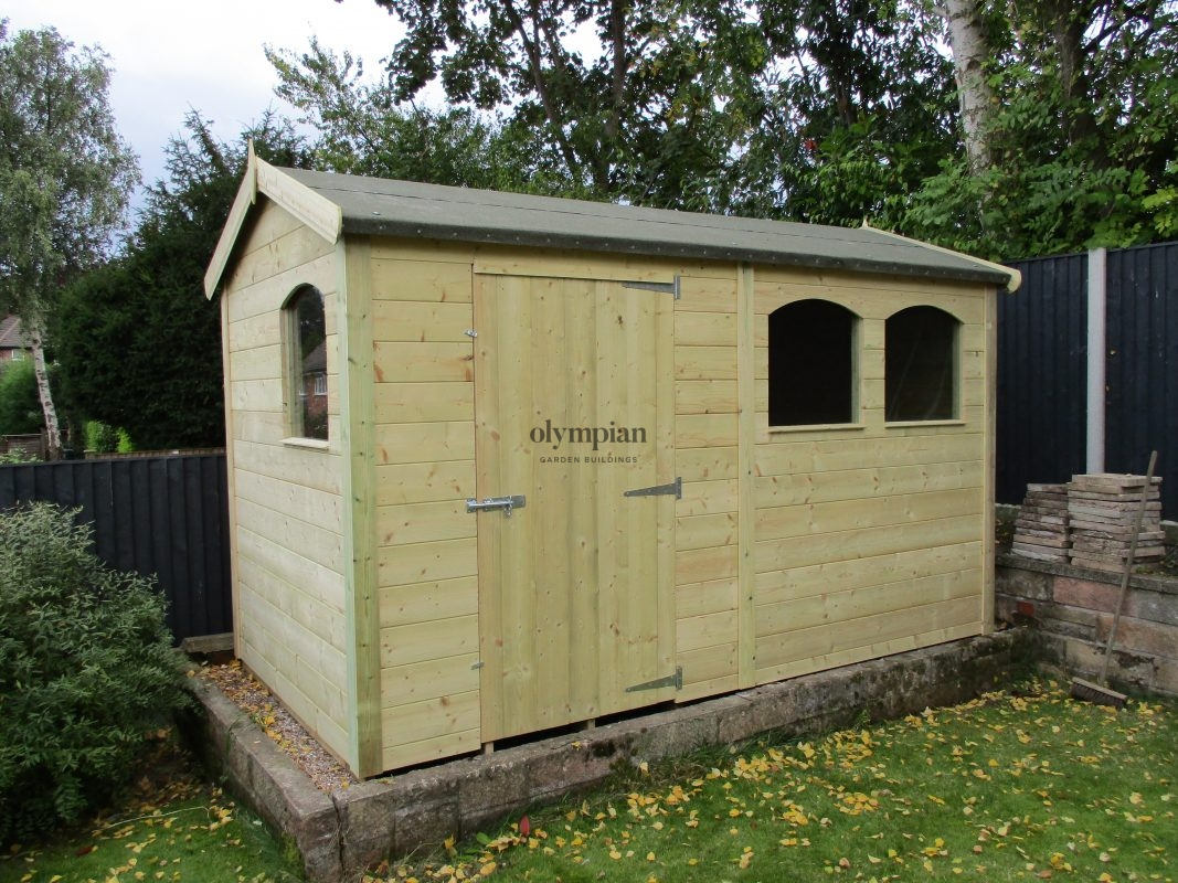 Large Apex Shed 27