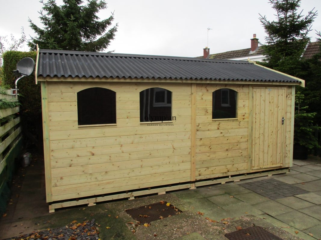 Large Apex Shed 28