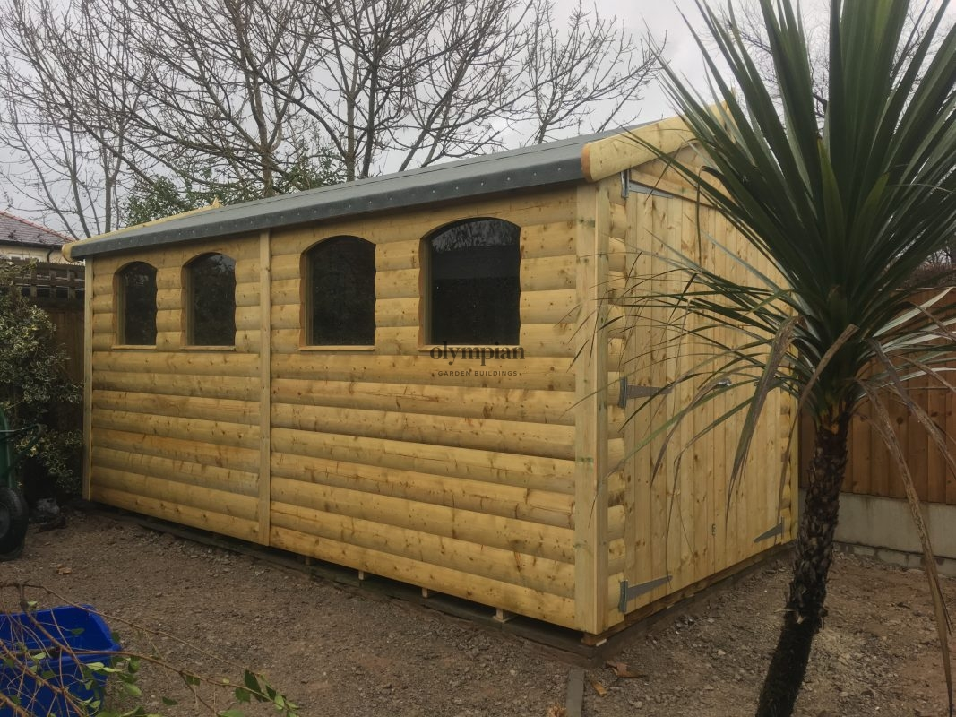 Large Apex Shed 29