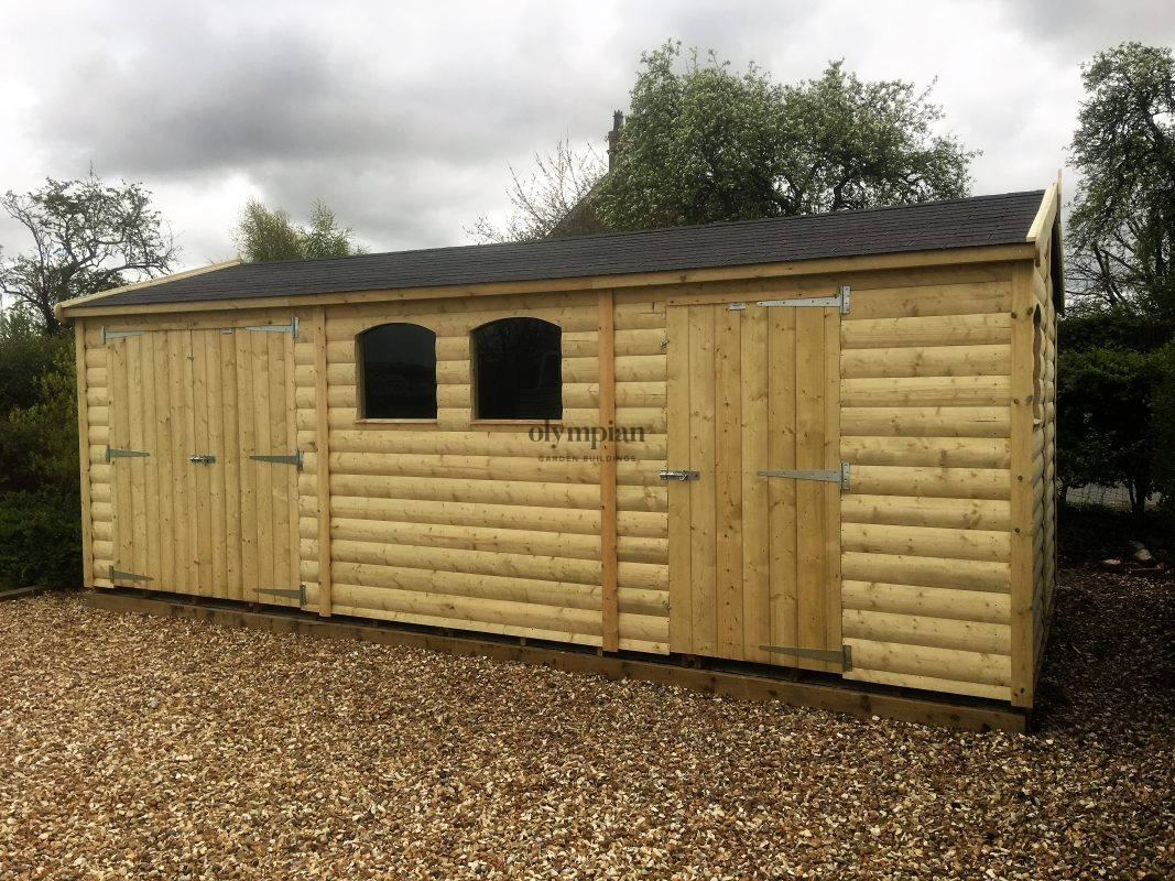 Large Apex Shed 31