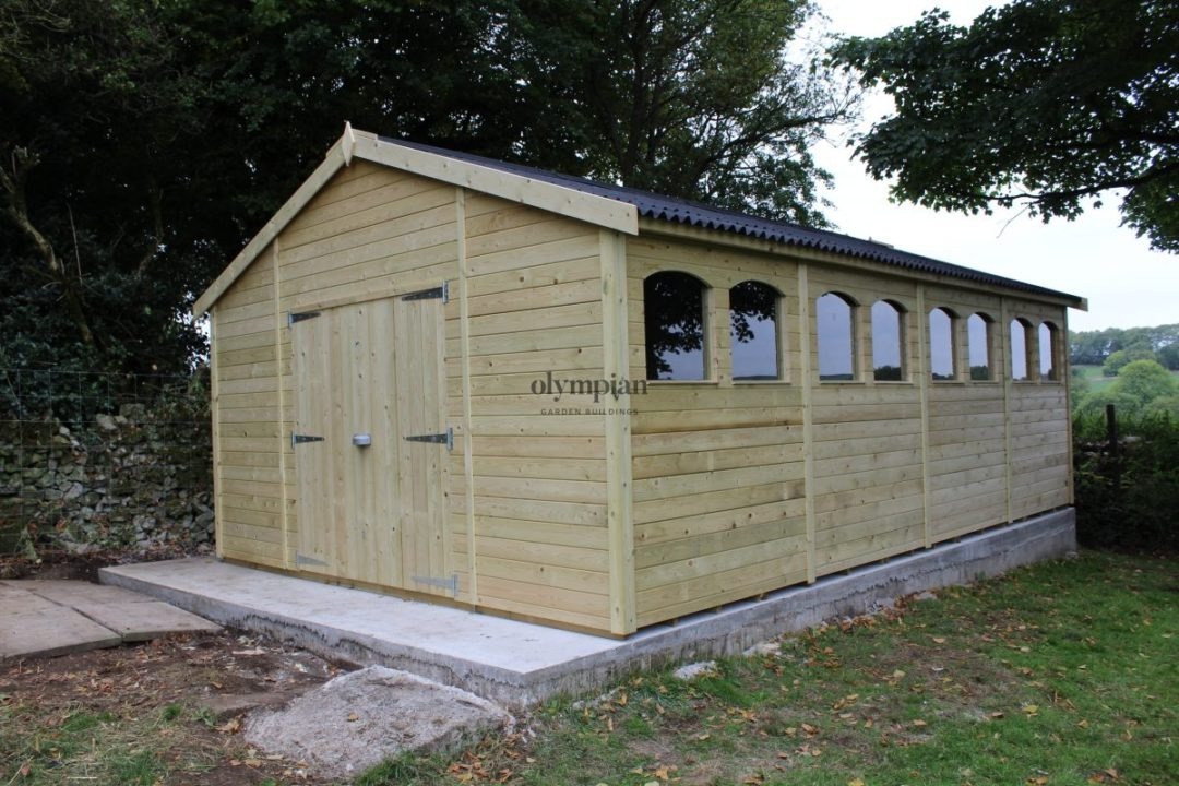 Large Apex Shed 3