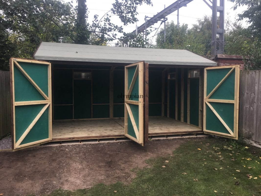 Large Apex Shed 42