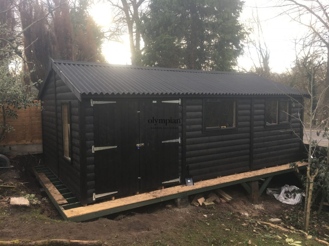 Large Apex Shed 47