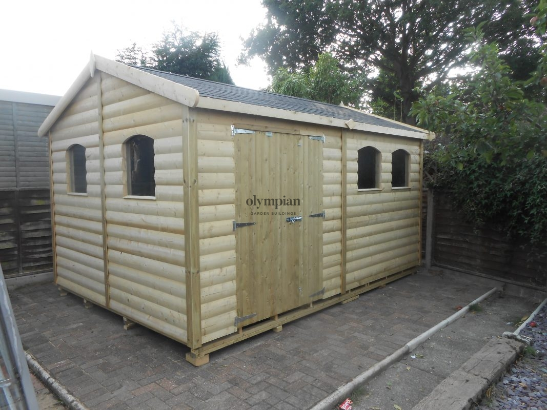 Large Apex Shed 4