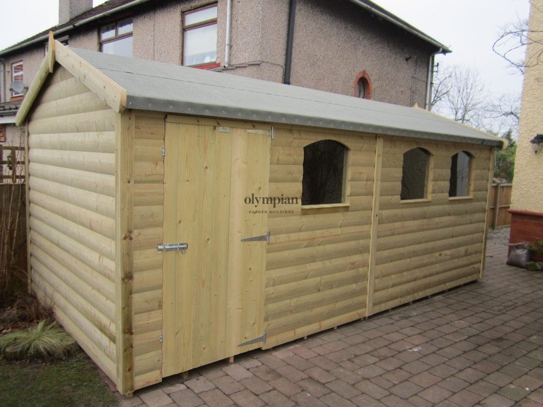 Large Apex Shed 54