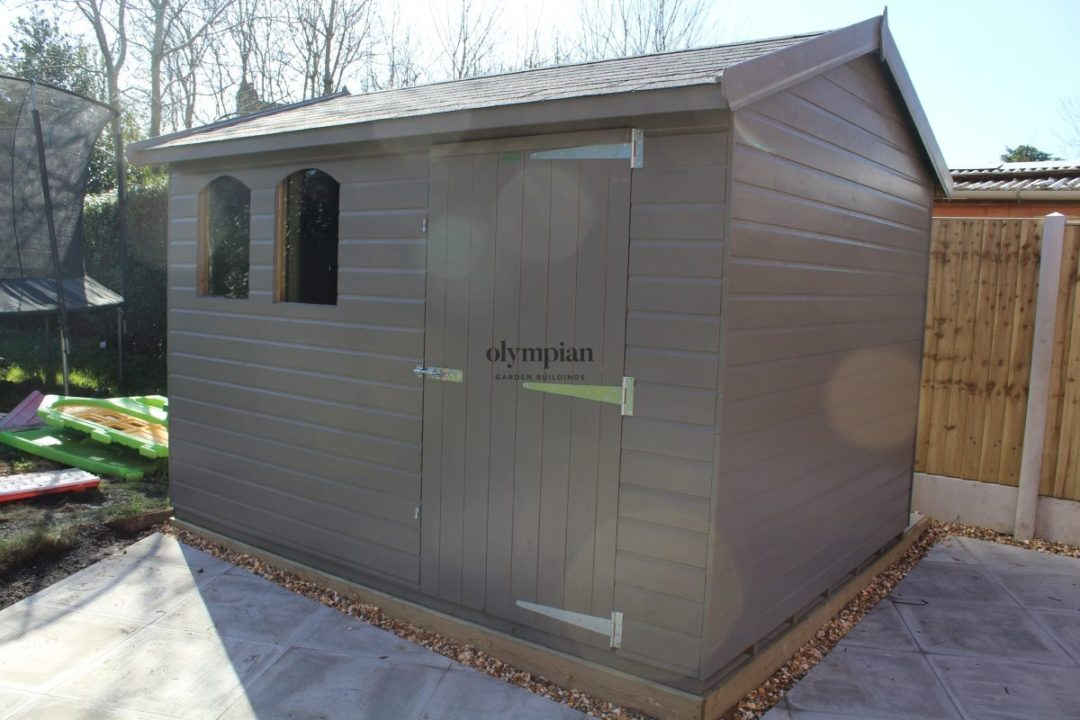 Large Apex Shed 55