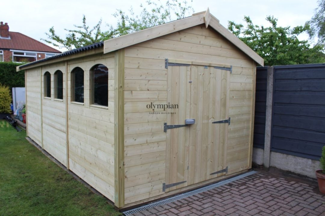 Large Apex Shed 58