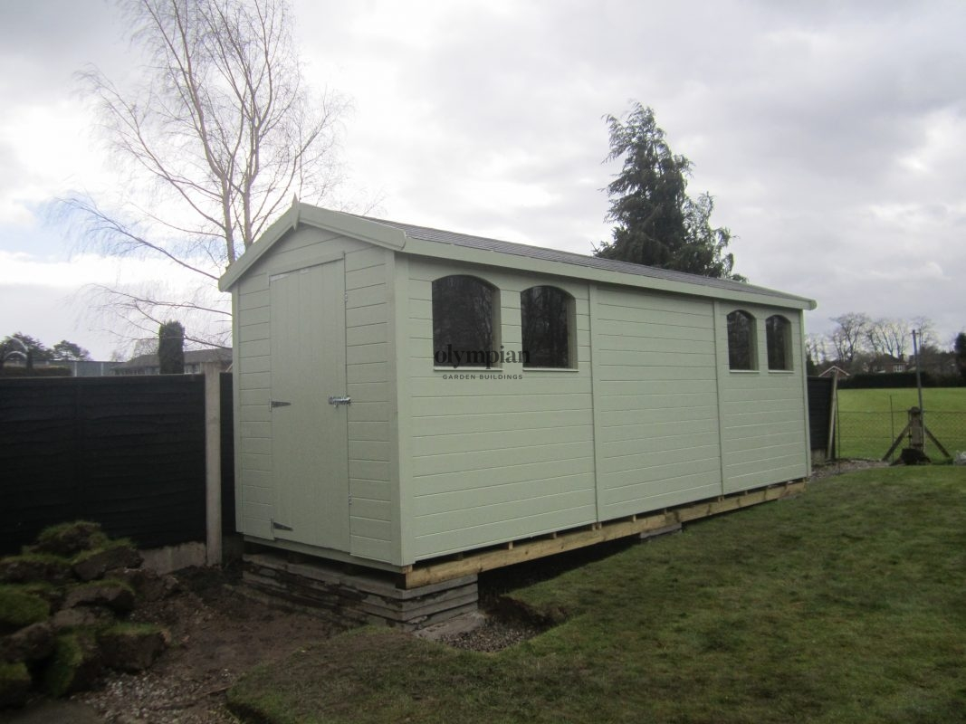 Large Apex Shed 59
