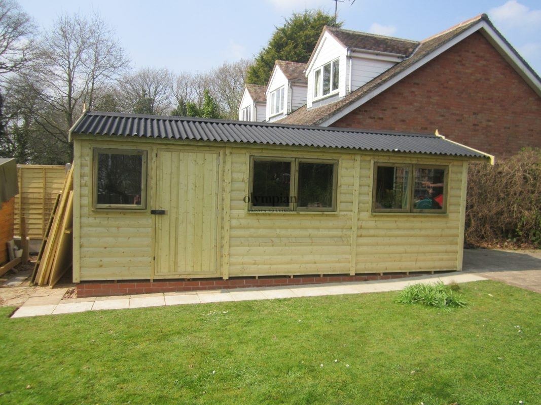 Large Apex Shed 60