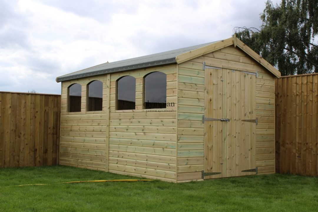 Large Apex Shed 63