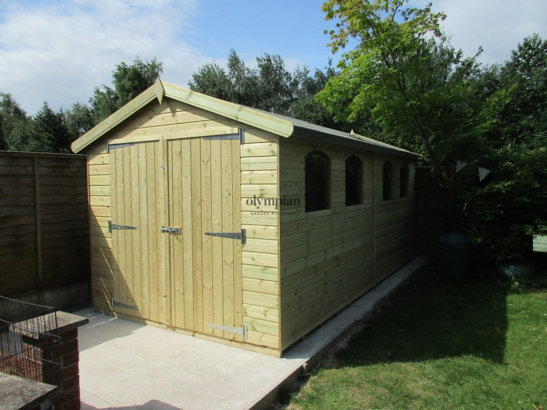 Large Apex Shed 65